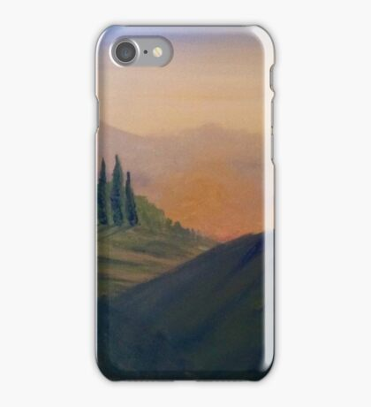 Italian Landscape iPhone Case/Skin