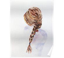 Pretty Blond Woman  Poster