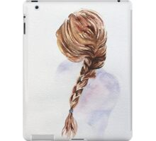 Pretty Blond Woman  iPad Case/Skin