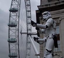 Stormtroopers in London by Robert Steadman
