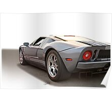 2006 Ford GT VS7 Poster