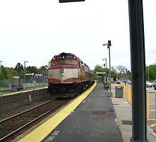 1070 MBTA Commuter Rail (INBOUND) by Eric Sanford