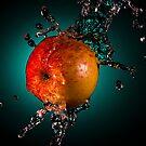 Apple splash by Johan Larson