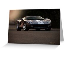 2006 Ford GT VS8 Greeting Card