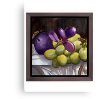 Magnum Grapes Canvas Print