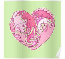 Loveasaurus Poster
