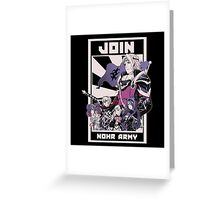 Join Nohr!  Greeting Card