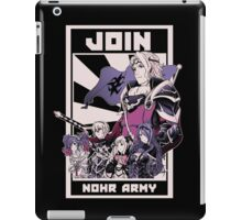 Join Nohr!  iPad Case/Skin