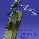 Father's Day Bluejay by RockyWalley
