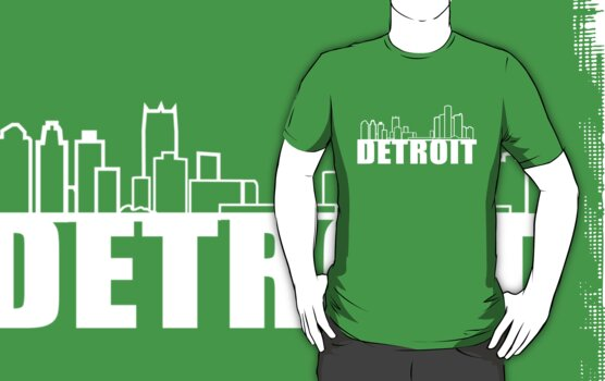 Detroit skyline by Jon  DeBoer