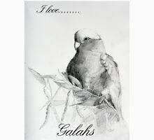 Parrots - Galah on Acacia Unisex T-Shirt