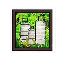 Typical Dinner Pails Photographic Print