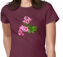 Geranium Profile Womens Fitted T-Shirt