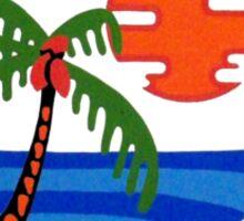 Porthole Paradise Sticker