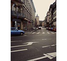Street in Strasbourg Photographic Print