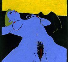 Blue Venus by Bela-Manson