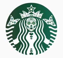 Day-of-the-Dead Starbucks by hypedesigns