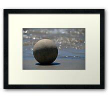 The Zen Stone Framed Print