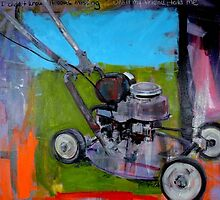 'Victor' the lawnmower' by Cat Leonard