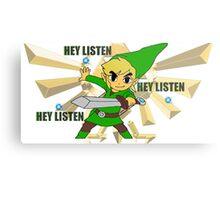 Link hey listen  Metal Print
