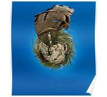 Driftwood Tiki Poster