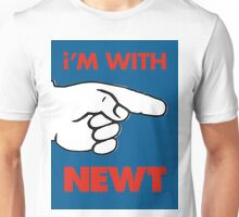 i'M WITH NEWT Unisex T-Shirt
