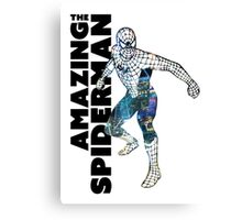 Spiderman NYC FanArt Decal Canvas Print