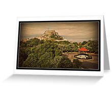 The Old Fort .  Corfu Town Greeting Card