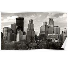 Window to Minneapolis Poster