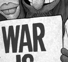 War Is Over (The Muppets / John Lennon) Sticker