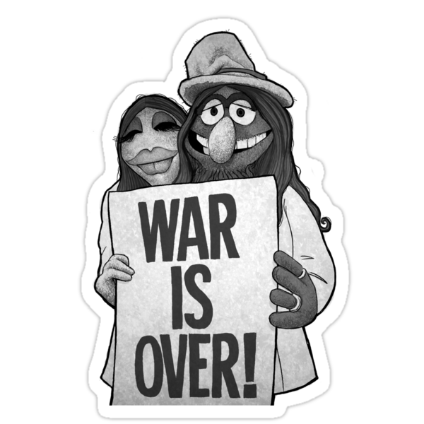 War Is Over (The Muppets / John Lennon) by James Hance