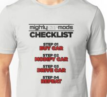 Mighty Mods Check List Unisex T-Shirt
