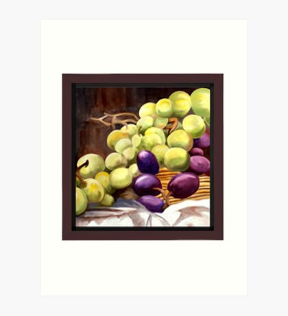 Greenlight Grapes Art Print