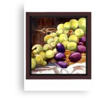 Greenlight Grapes Canvas Print