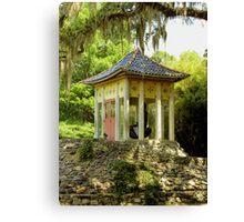 Where Buddha Rests Canvas Print