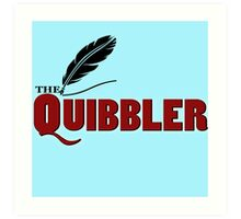 The Quibbler Art Print