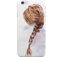 Pretty Blond Woman  iPhone Case/Skin