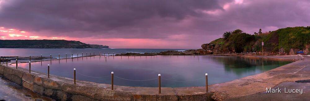Malabar Baths Panorama by Mark  Lucey