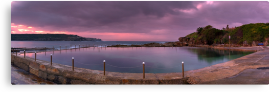 Malabar Baths Panorama by Mark  Lucey