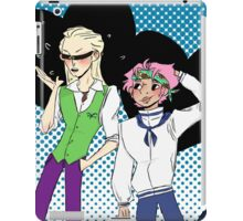 Coby and Helmeppo the smol marines iPad Case/Skin