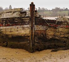 River Orwell wreck by Christopher Cullen