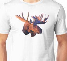 Low Poly Moose  Unisex T-Shirt