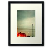 Industry Drive By - Denmark Framed Print
