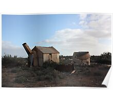 White Wells Station Nullarbor Poster