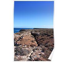 Bunda Cliffs Gap Nullarbor Poster