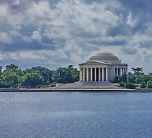 Jefferson Memorial by AnnDixon