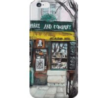 Postcards from Paris - Shakespeare and Company iPhone Case/Skin