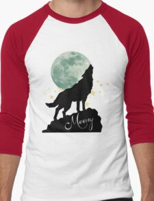Moony Men's Baseball ¾ T-Shirt