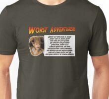 WORST ADVENTURERS - Indy Brody Bluff (deutsch) Unisex T-Shirt