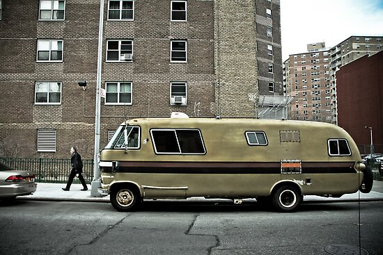 New Yorker Van by Steve Edwards